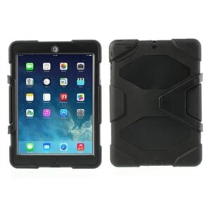 Anti-Rain Heavy Duty Case Til Apple iPad Air 2 – Sort