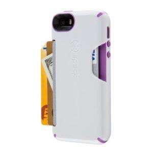 iPhone 5 m/ kreditkort holder – Hvid