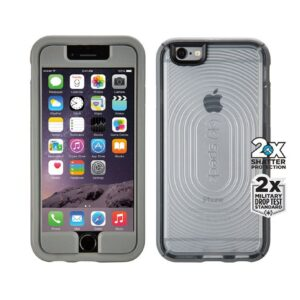 iPhone 6 MightyShell Clear/Grå