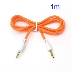 3.5mm – 3.5mm Audio Kabel – Orange