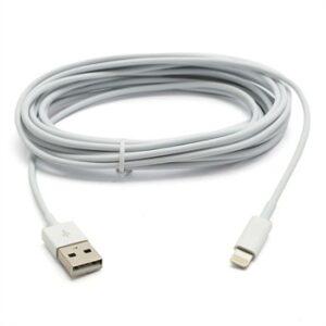 Apple Lightning USB Oplade- & Datakabel – Hvid 3M