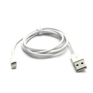 Apple Lightning USB Oplade- & Datakabel – Hvid 1M