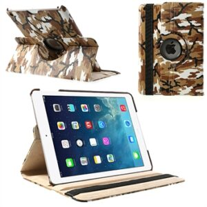 Apple iPad Air Rotating Smart Cover Stand – Brun Camo