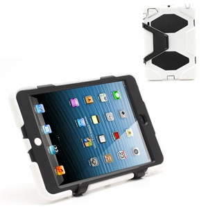 Anti-Rain Heavy Duty Case Til Apple iPad Mini – Hvid
