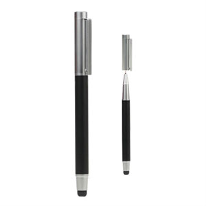 2 i 1 Stylus Pen til smartphones og tablets – sort