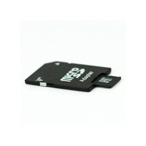 8GB MicroSDHC TransFlash hukommelseskort med SD adapter