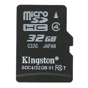 Kingston 32GB Micro SDHC klasse 4 Hukommelseskort