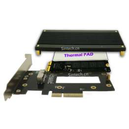 APPLE SSD 2013-2014 stik til PCI-e 4X adapter Sintech