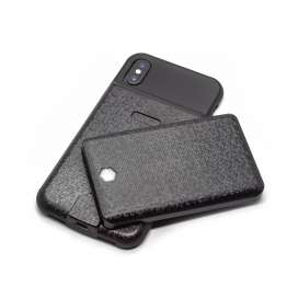 iPhone X/Xs Cover med 4000 mAh magnetisk powerbank