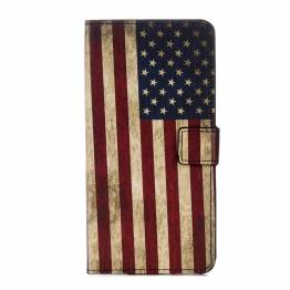 iPhone X/Xs cover med flag Version Amerikansk flag, iPhone iPhone X (10) / Xs