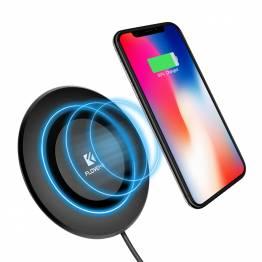 FLOVEME Qi oplader til iPhone  i sort